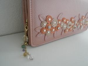 李家幽竹(りのいえゆうちく)オリジナル鈴と天然石のお財布チャーム